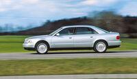 Audi A8 2.8, Seitenansicht