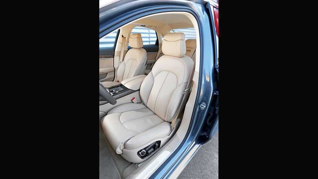 Audi A8 3.0 TDI Clean Diesel, Fahrersitz