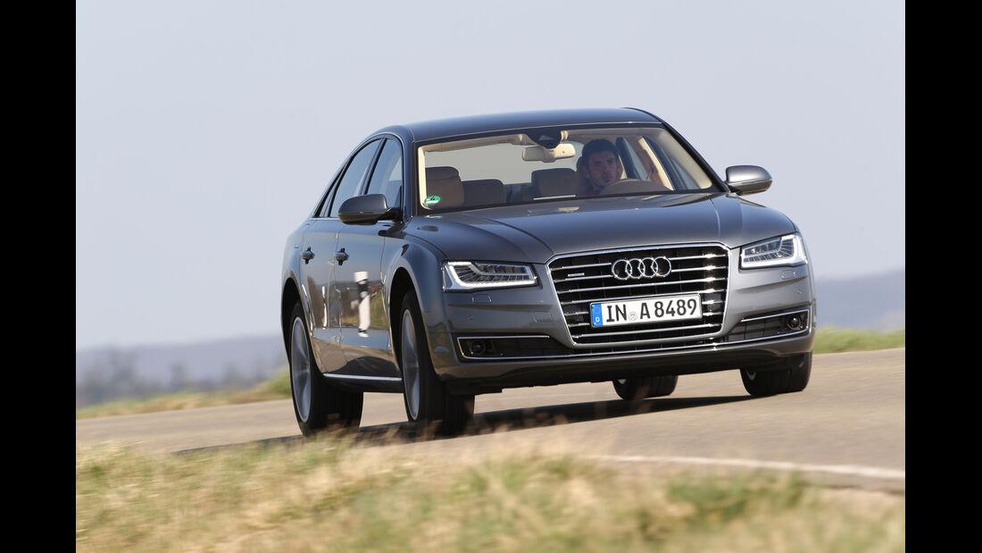 Audi A8 3.0 TDI Clean Diesel, Frontansicht