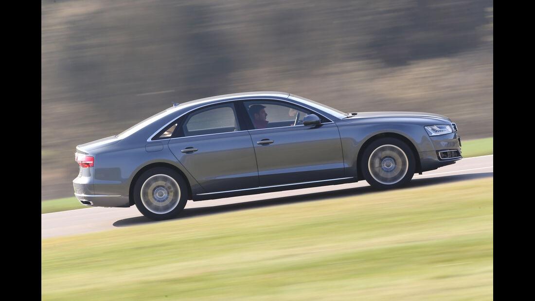 Audi A8 3.0 TDI Clean Diesel, Seitenansicht