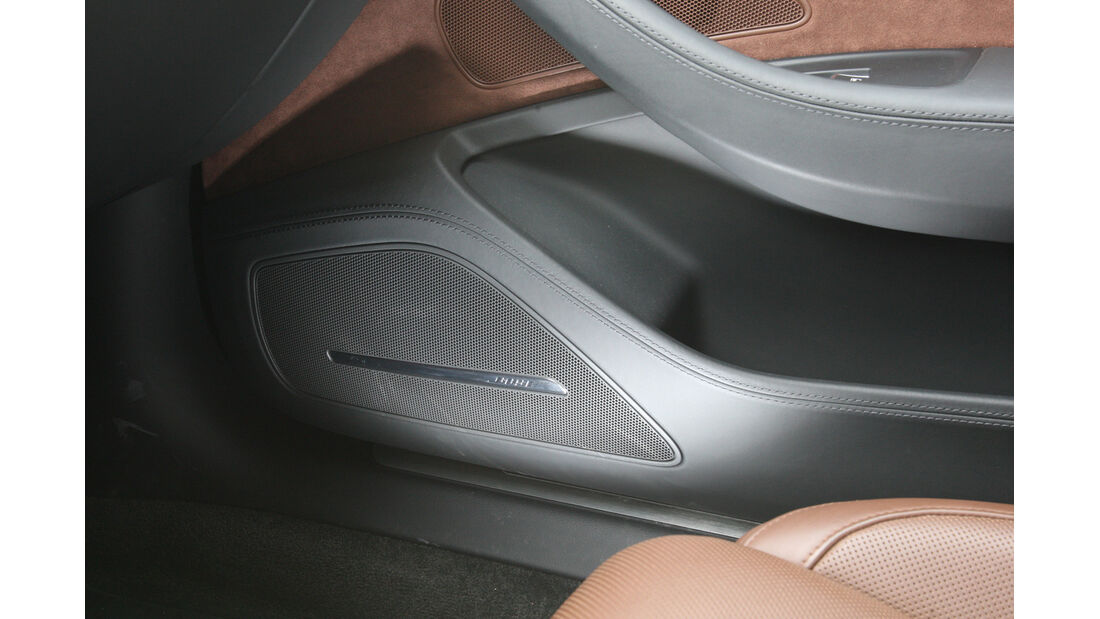 Audi A8 3.0 TDI Quattro, Bose, Lautsprecher