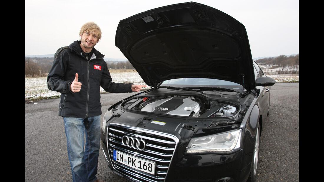 Audi A8 3.0 TDI Quattro, Motor, Marcus Peters