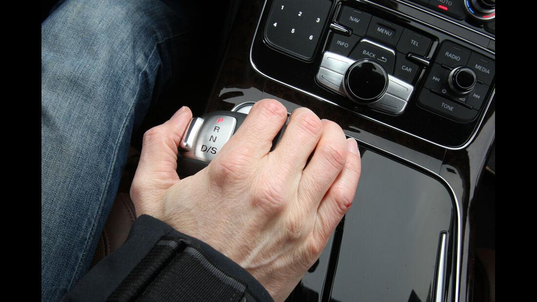 Audi A8 3.0 TDI Quattro, Schalthebel, Schaltknauf