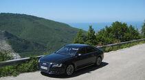 Audi A8 3.0 TDI Quattro, Seitenansicht
