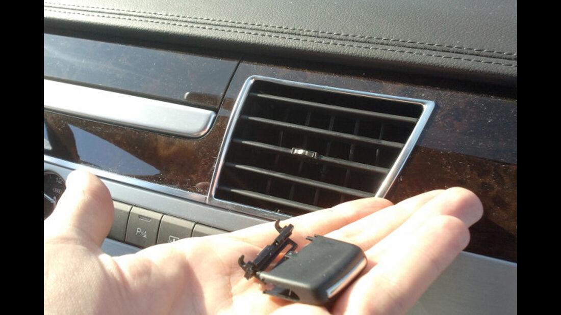 Audi A8 3.0 TDI Quattro, Zündschlüssel