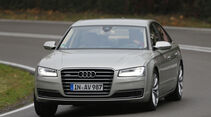 Audi A8 4.0 TFSI Quattro, Frontansicht