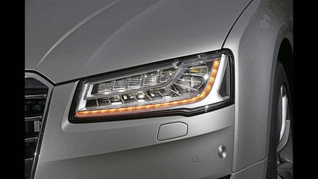 Audi A8 4.0 TFSI Quattro, Frontscheinwerfer