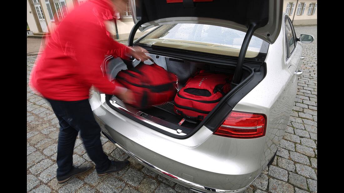 Audi A8 4.0 TFSI Quattro, Kofferraum