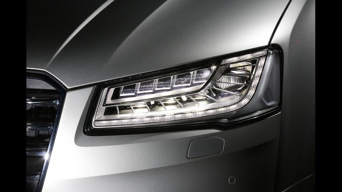 Audi A8 4.0 TFSI Quattro, Scheinwerfer
