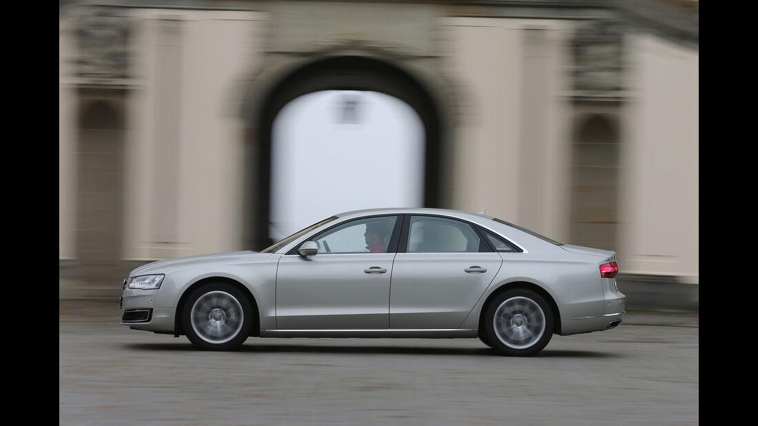 Audi A8 4.0 TFSI Quattro, Seitenansicht