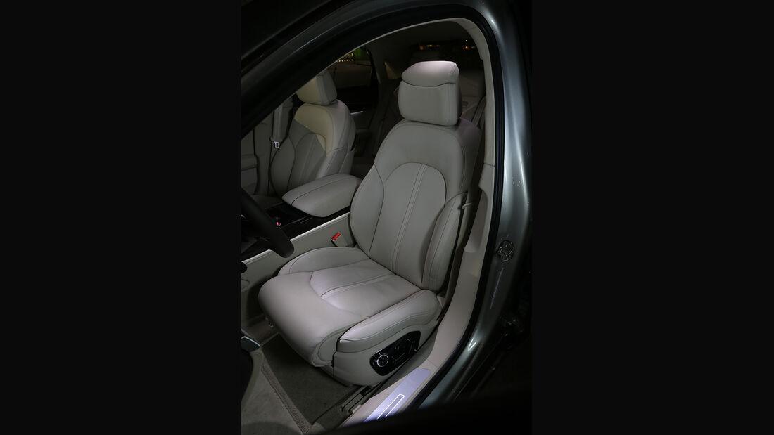 Audi A8 4.0 TFSI Quattro, Sitz