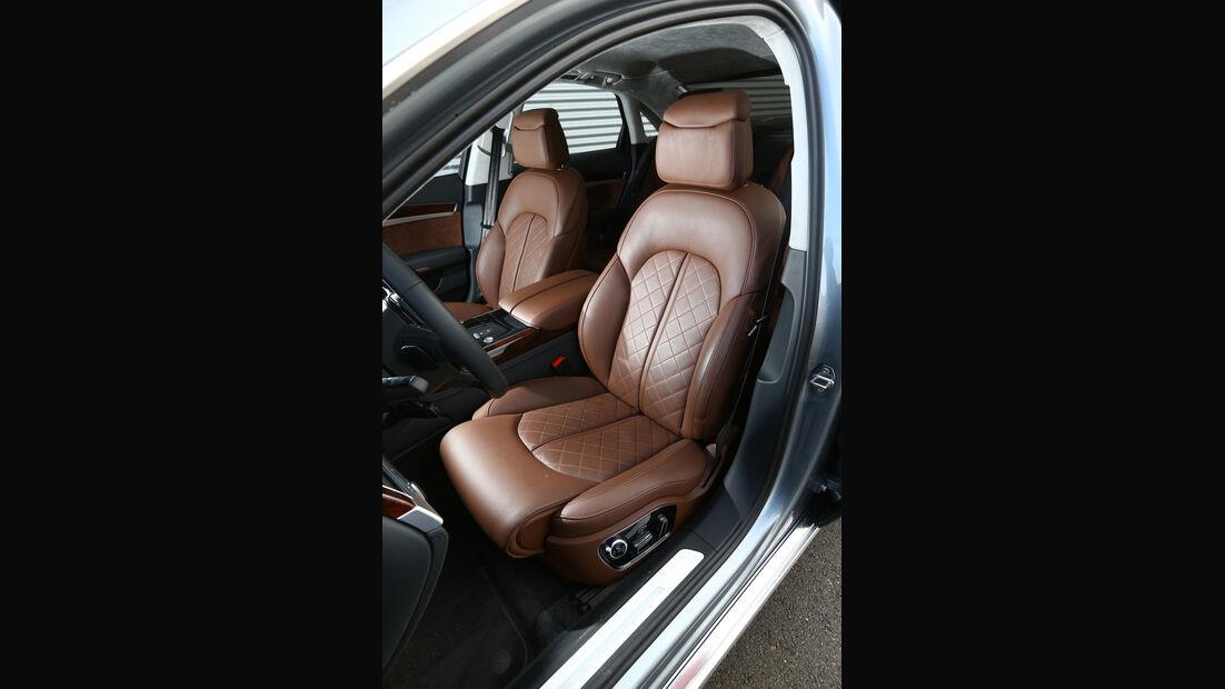 Audi A8 4.0 TFSI quattro, Fahrersitz