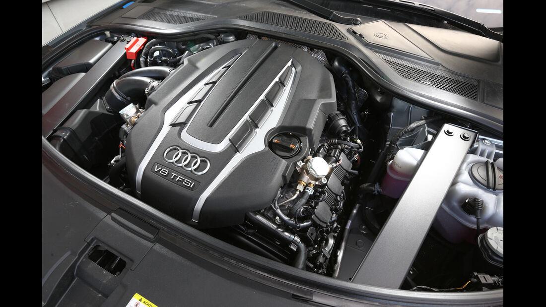 Audi A8 4.0 TFSI quattro, Motor