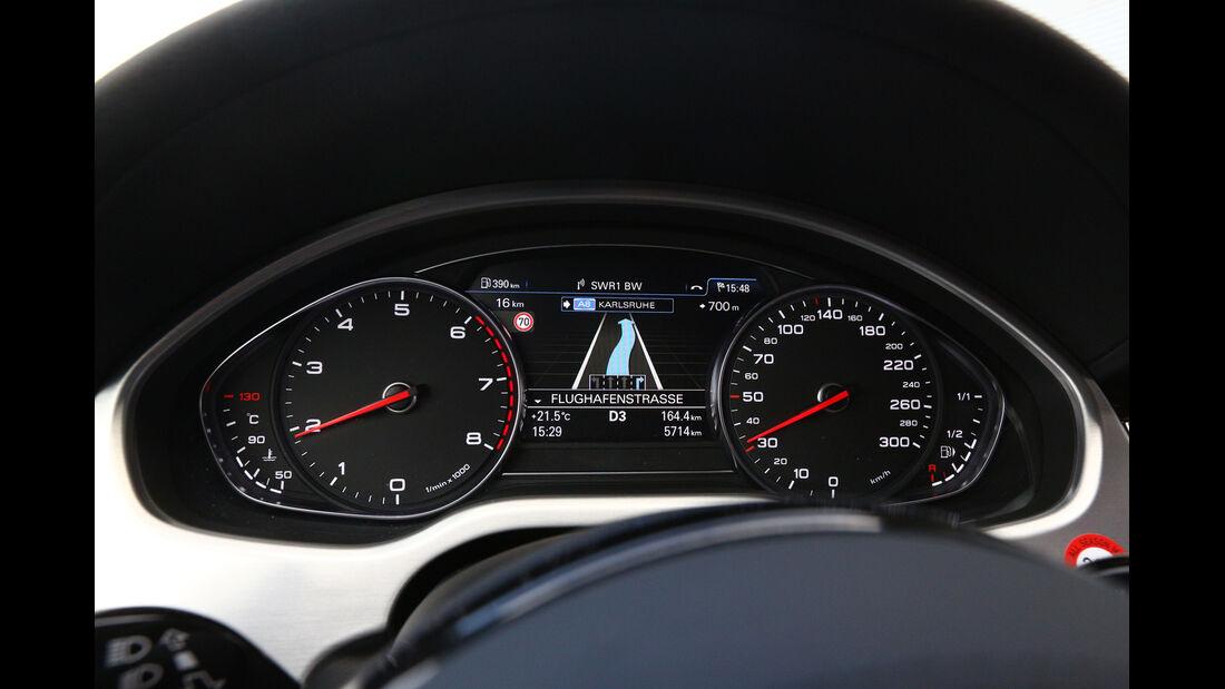 Audi A8 4.0 TFSI quattro, Rundinstrumente