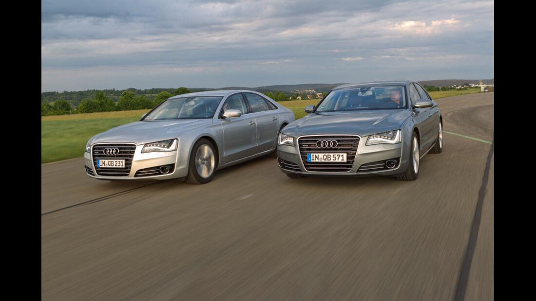 Audi A8 4.2 FSI, Audi A8 4.2 TDI, Frontansicht