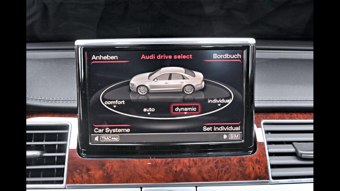 Audi A8 4.2 FSI Quattro, Bildschirm, Monitor