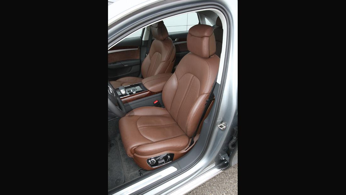 Audi A8 4.2 FSI Quattro, Fahrersitz