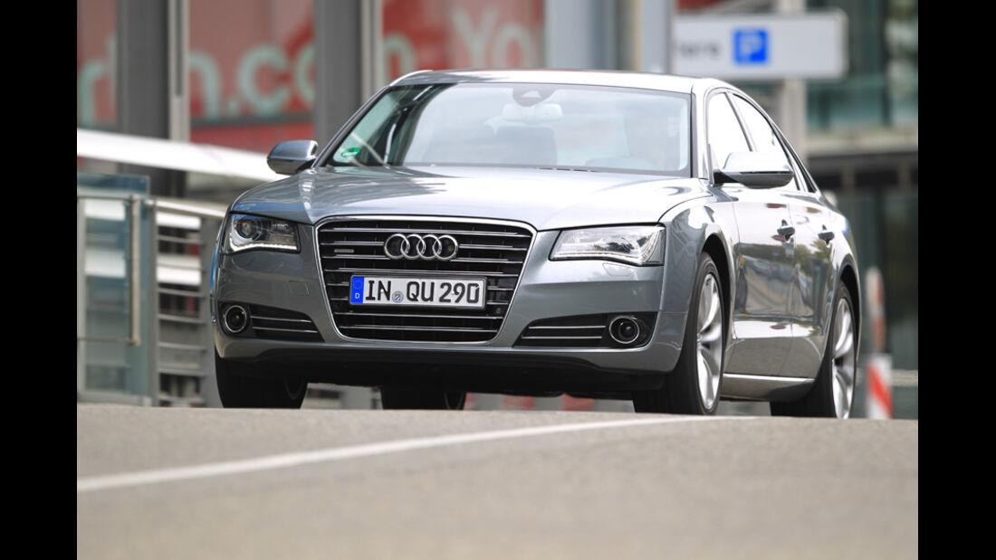 Audi A8 4.2 FSI Quattro, Frontansicht