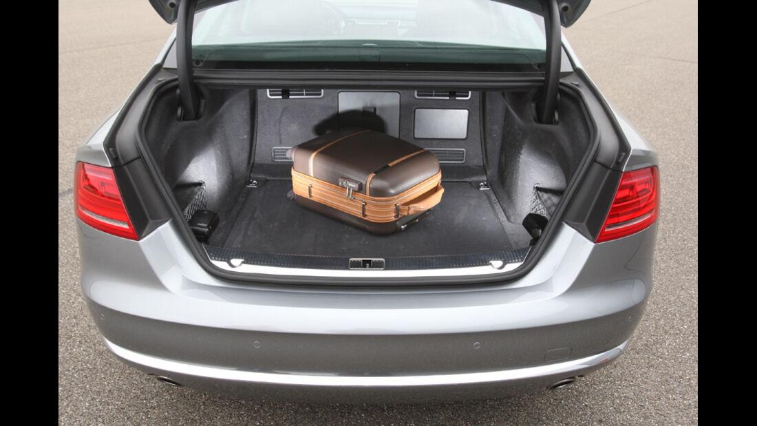 Audi A8 4.2 FSI Quattro, Kofferraum