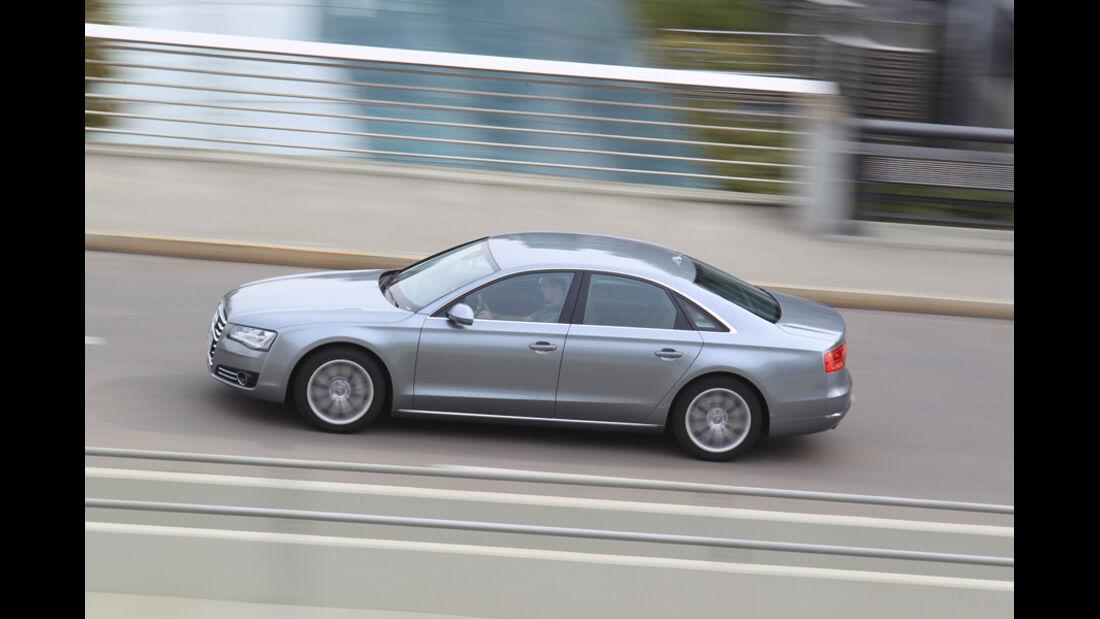 Audi A8 4.2 FSI Quattro, Seitenansicht