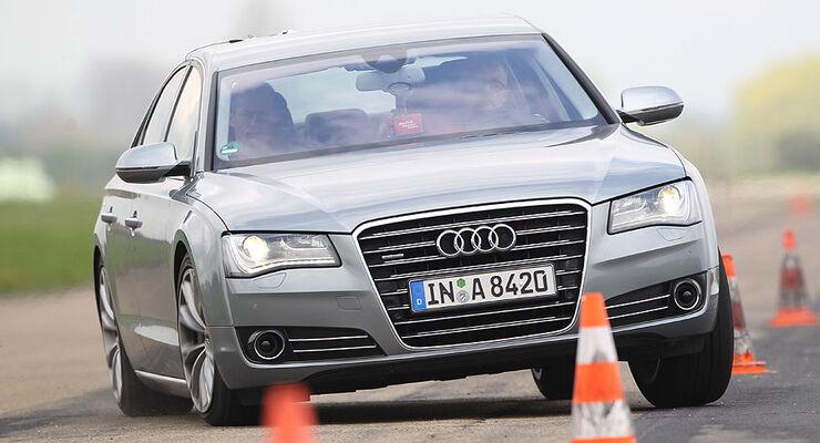 Audi A8 Bmw 7er Mercedes S Klasse Und Porsche Panamera Im Test