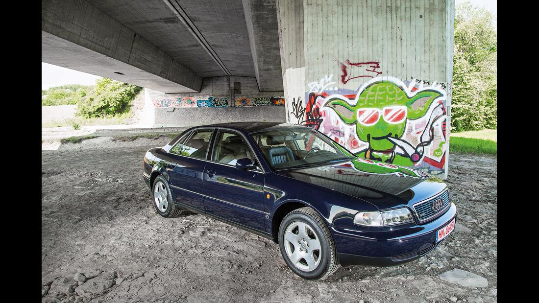 Audi A8 4.2 Quattro (D2), Frontansicht