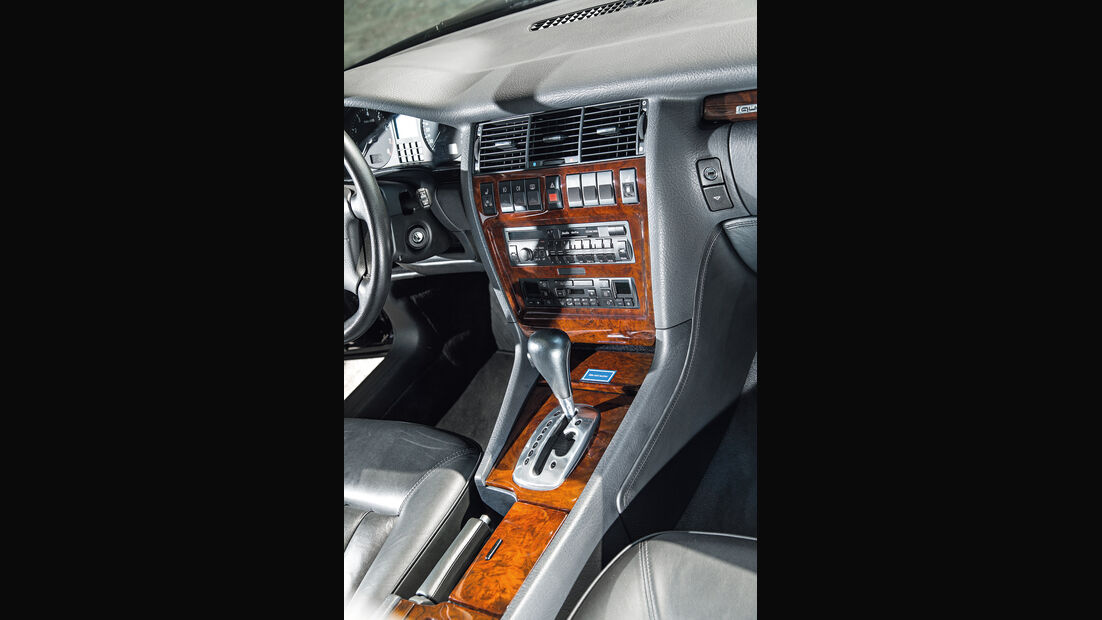 Audi A8 4.2 Quattro (D2), Mittelkonsole