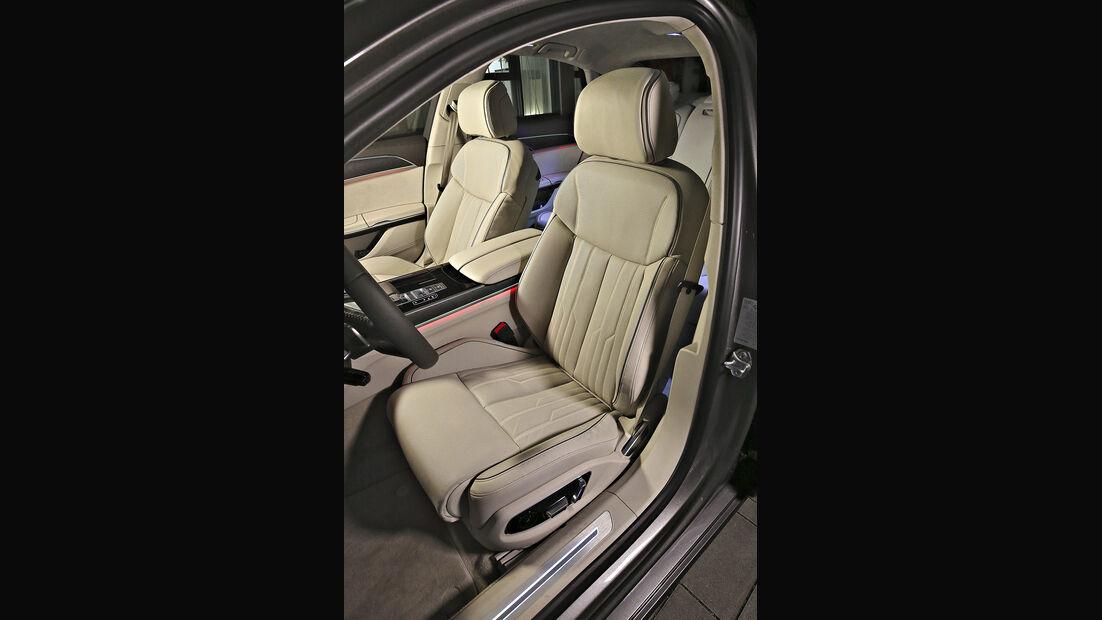 Audi A8 50 TDI Quattro, Interieur