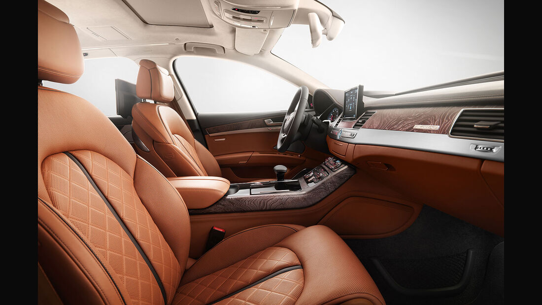 Audi A8 Exclusive Concept Innenraum