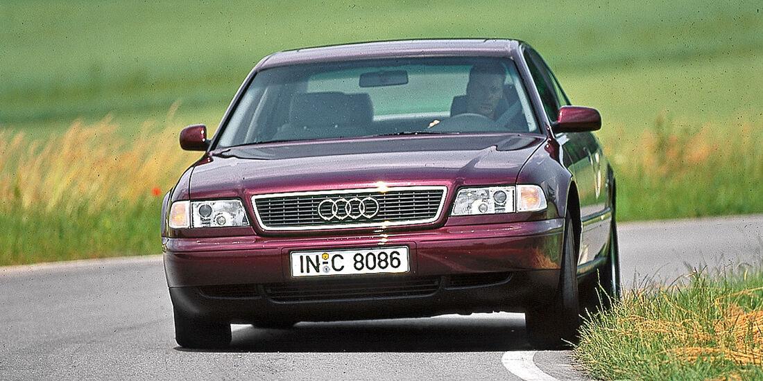 Audi A8, Frontansicht