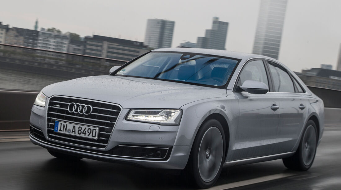 Audi A8, Frontansicht