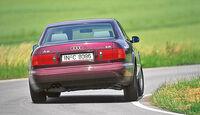 Audi A8, Heckansicht