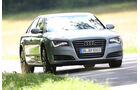 Audi A8 Hybrid, Frontansicht
