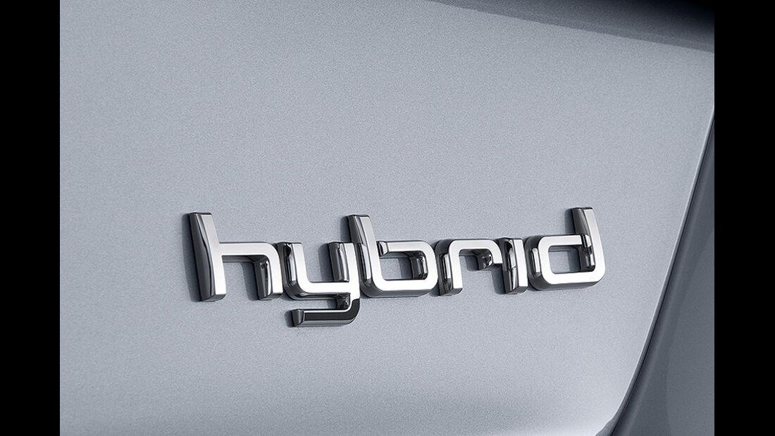 Audi A8 Hybrid, Hybrid-Schriftzug