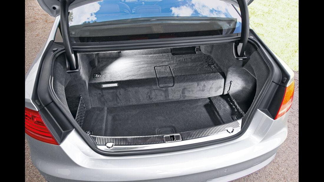 Audi A8 Hybrid, Kofferraum