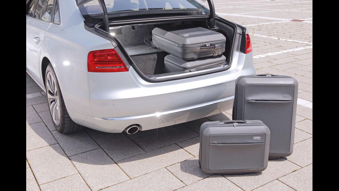 Audi A8 Hybrid, Kofferraum, Gepäck