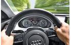 Audi A8 Hybrid, Lenkrad, Rundelemente