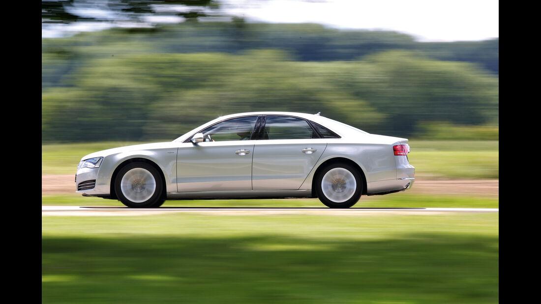 Audi A8 Hybrid, Seitenansicht
