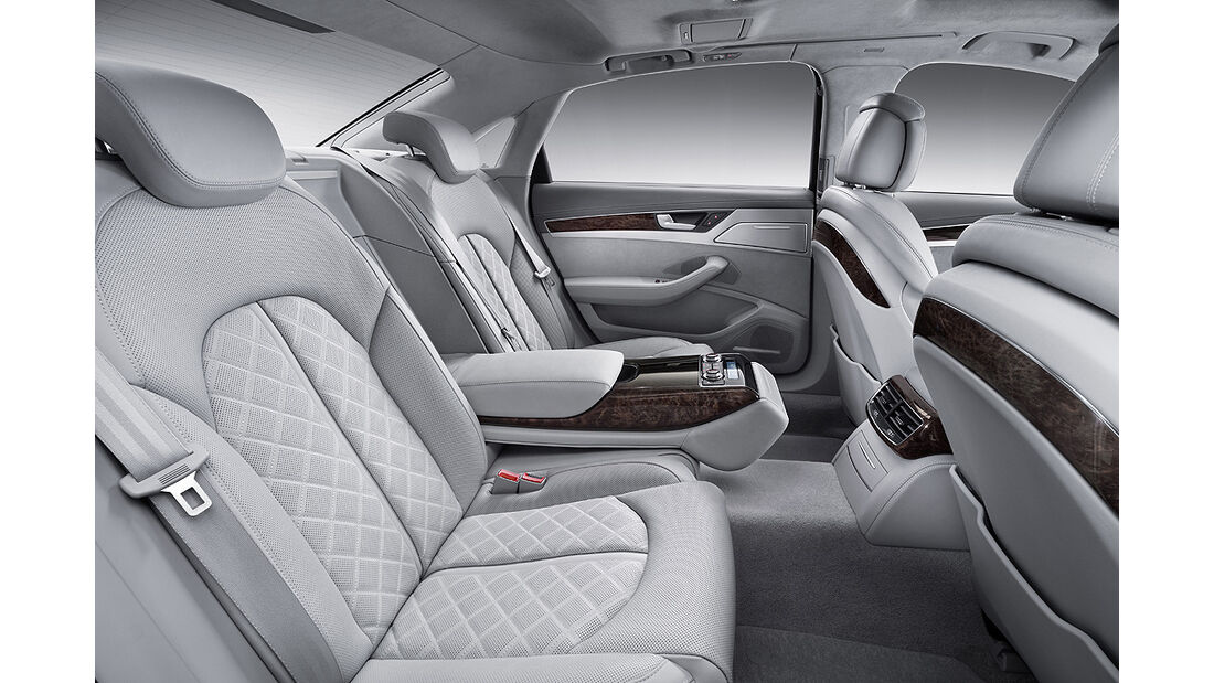 Audi A8 L, Langversion, Innenraum, Rücksitze