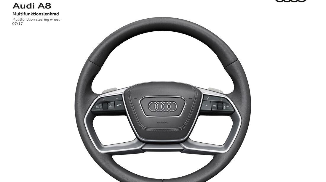 Audi A8 - Lenkrad