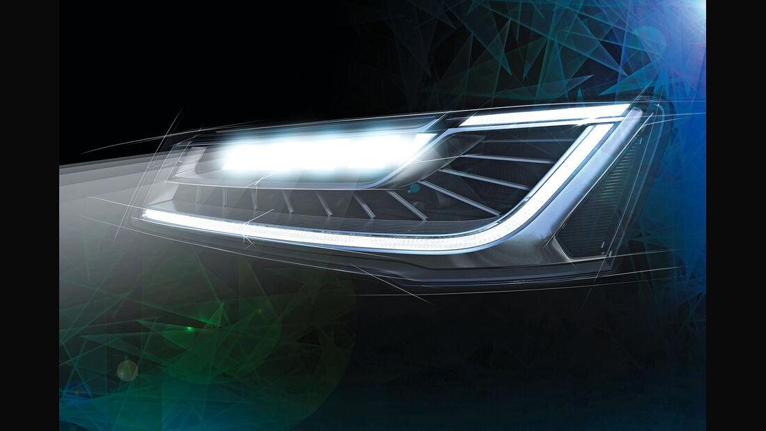 Audi A8, Matrixlicht