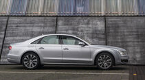 Audi A8, Seitenansicht
