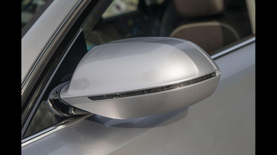 Audi A8, Seitenspiegel