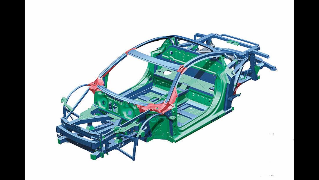 Audi A8 Spaceframe