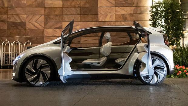 Audi AI:MI, Interieur