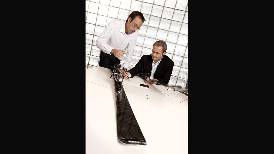 Audi-Accessoires, Wolfgang Egger, Ski