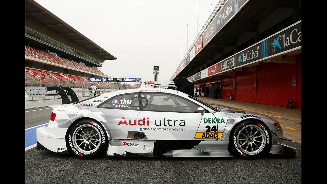 Audi Adrien Tambay DTM 2013