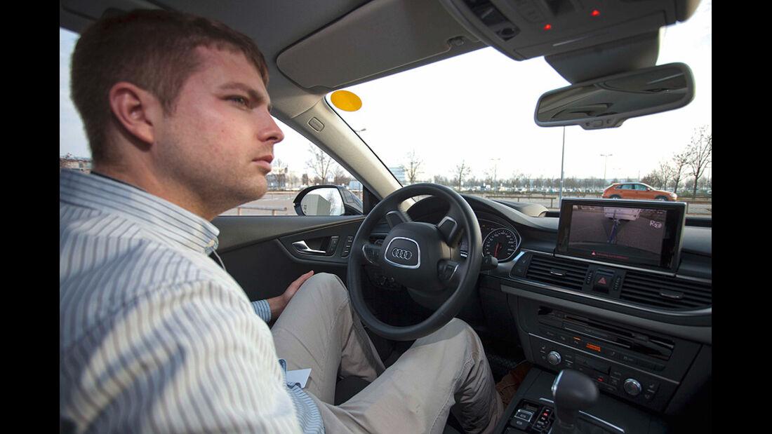 Audi Assistenzsysteme, Anhänger-Rangierassistent