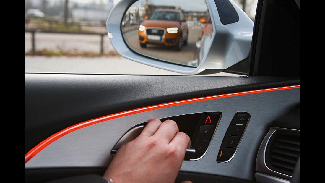 Audi Assistenzsysteme, Ausstiegsassistent