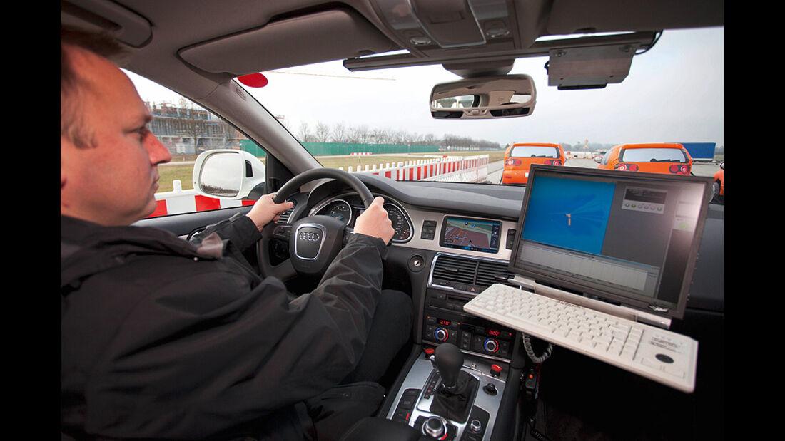 Audi Assistenzsysteme, Notbremsassistent